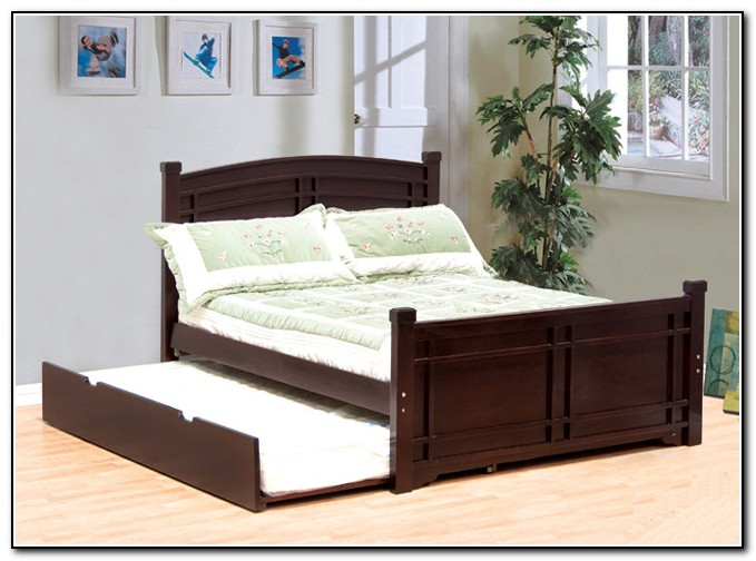 Full Size Bed With Trundle Twin