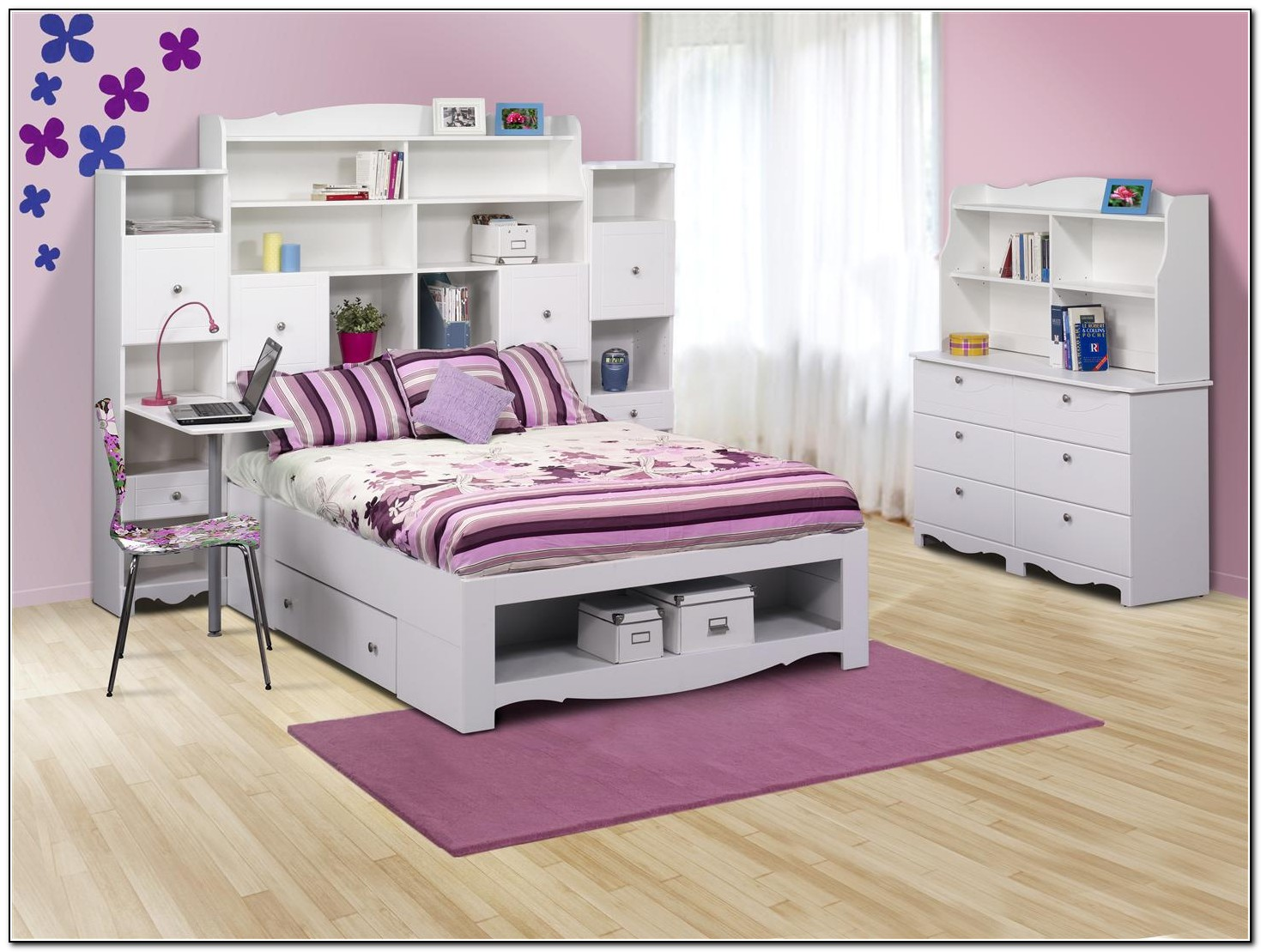 Full Size Storage Bed For Kids