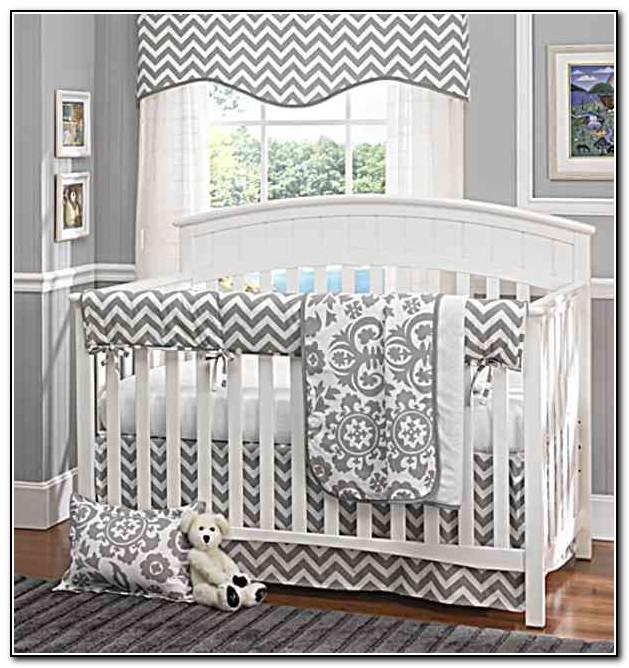 Gray And White Bedding Pinterest