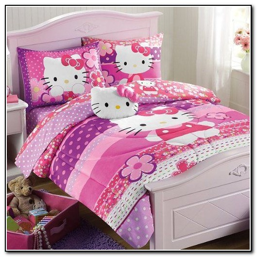 Hello Kitty Twin Bed In A Bag