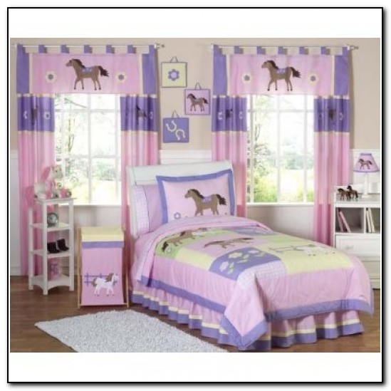 Horse Bedding For Girls Twin Bed