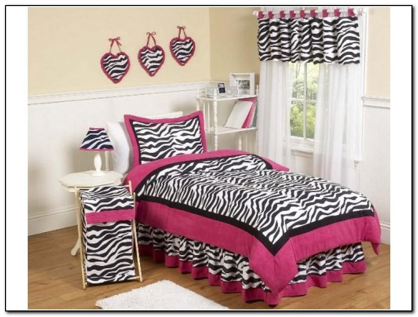 Hot Pink Zebra Bedding