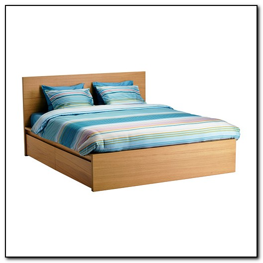 Ikea Storage Bed Malm