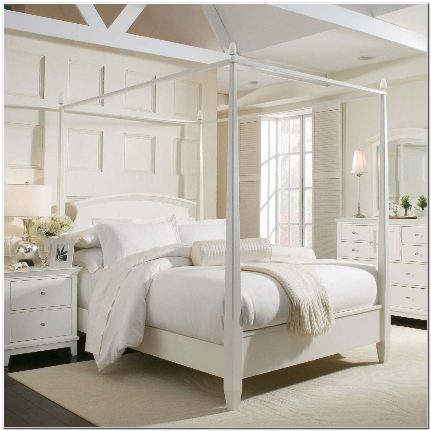 King Size Canopy Bed Curtains