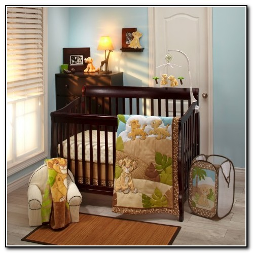 Lion King Baby Nursery Bedding
