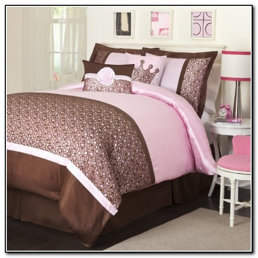 Pink And Brown Full Size Bedding Sets