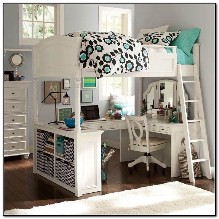 Pottery Barn Bunk Beds With Desk