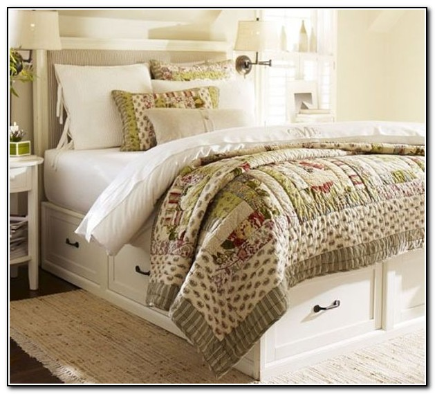 Pottery Barn Bunk Beds With Trundle