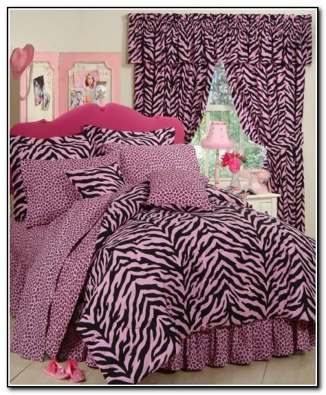 Purple And Pink Zebra Bedding