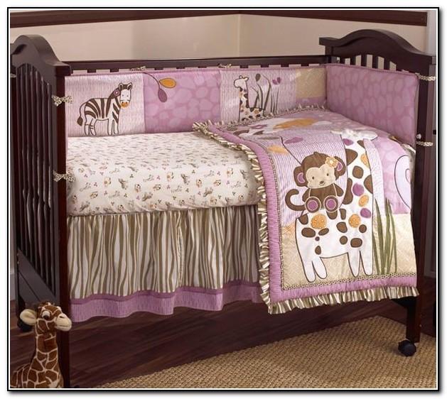 Purple Baby Bedding For Girls