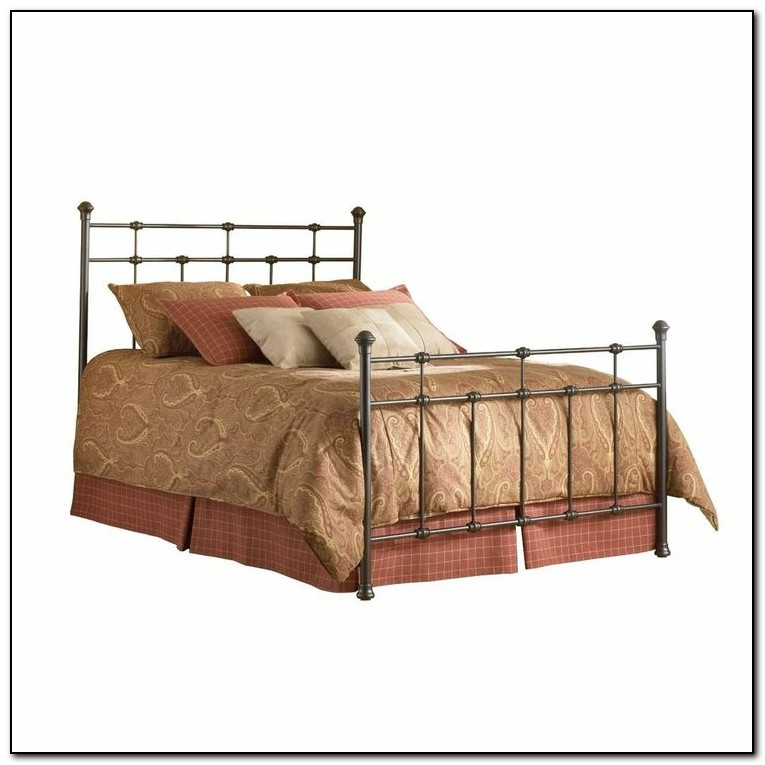 Queen size bed frames for headboard and footboard beds for Queen size footboard