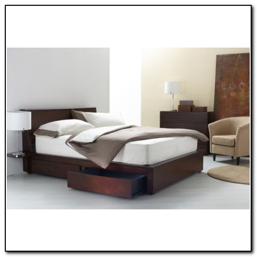 Queen Size Bed Frames With Storage