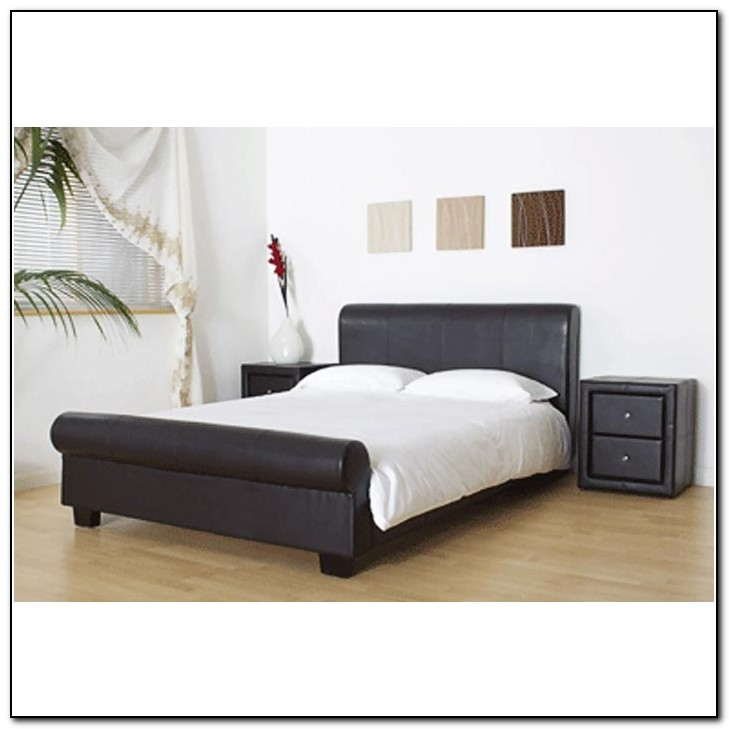 Super King Sleigh Bed