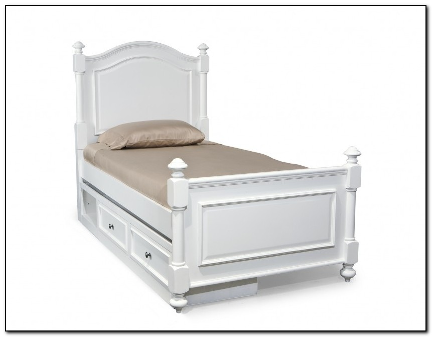 Twin Beds With Storage Underneath