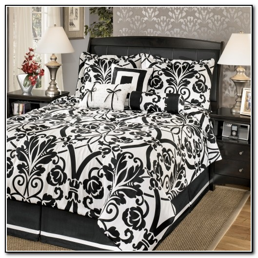 Xl black and white bedding 28 images white bedding for Black and white marble bedding