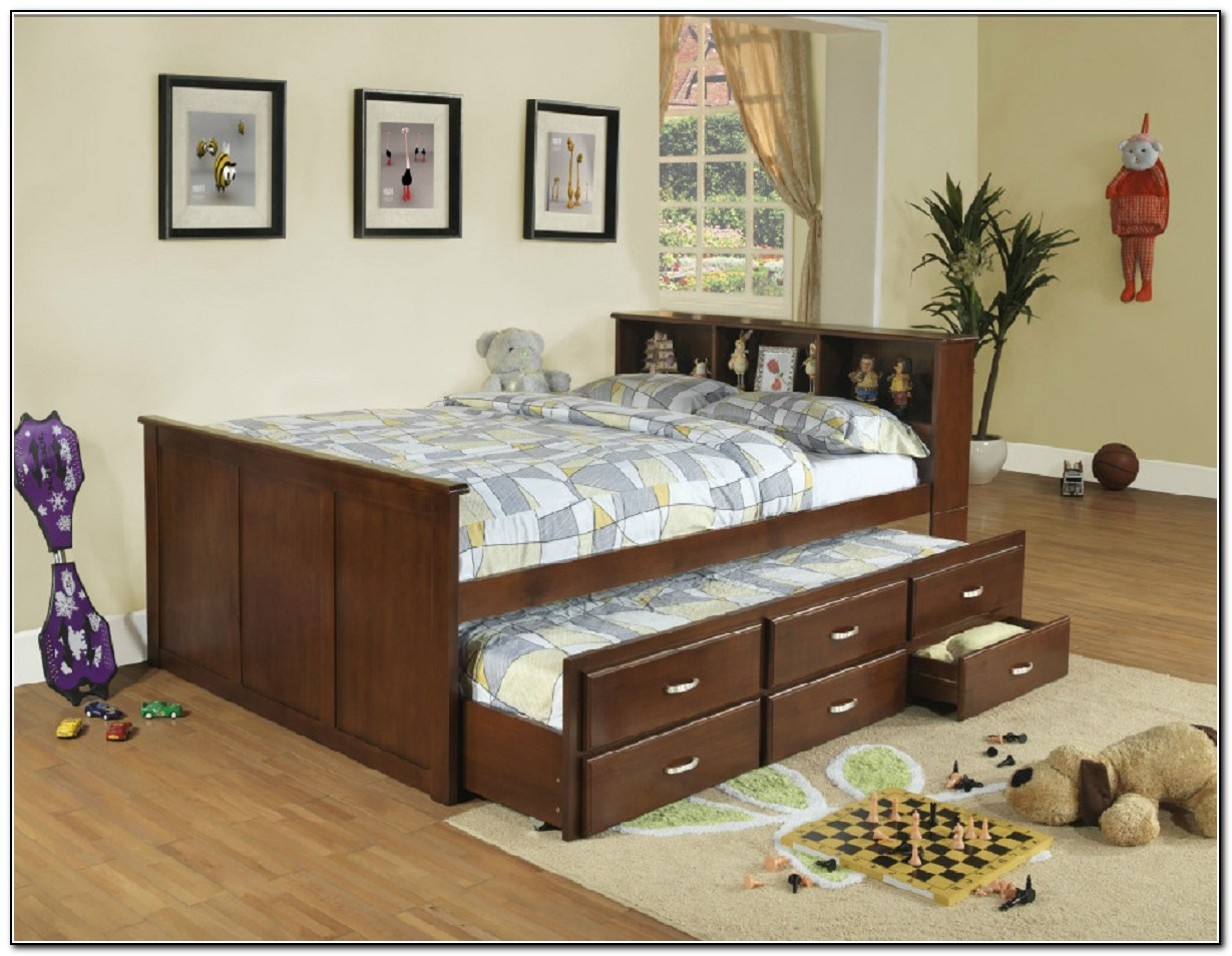 Captains bed full ikea beds home design ideas for Captains bed full ikea
