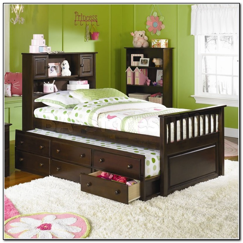 Captains Bed Full With Trundle And Drawers Beds Home Design Ideas 5onelyep1d10970