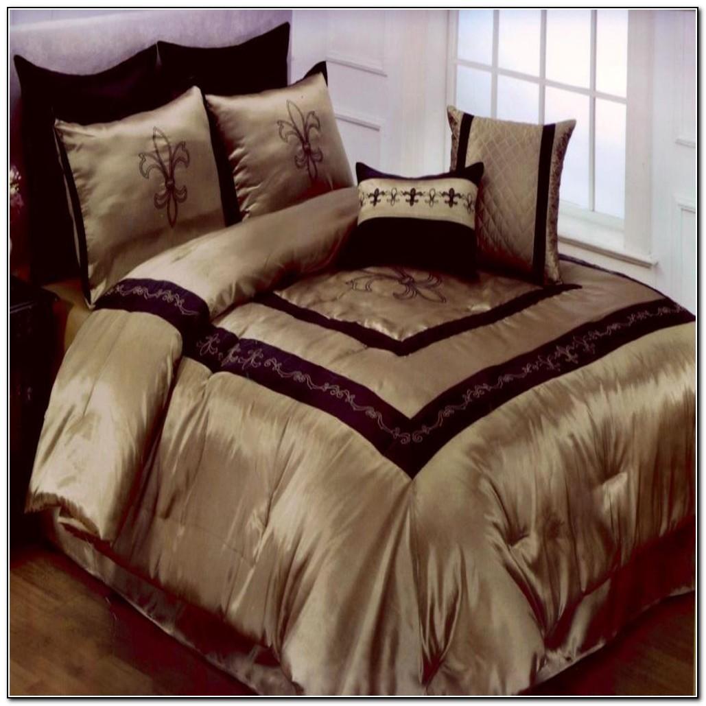 Fleur de lis bedding king beds home design ideas z5nkrwop8611104 - Fleur de lis comforter ...