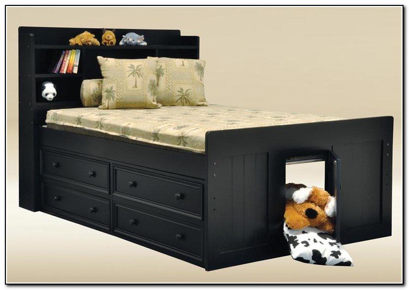 Full size captains bed plans download page home design ideas galleries home design ideas guide - Full size captain beds ...