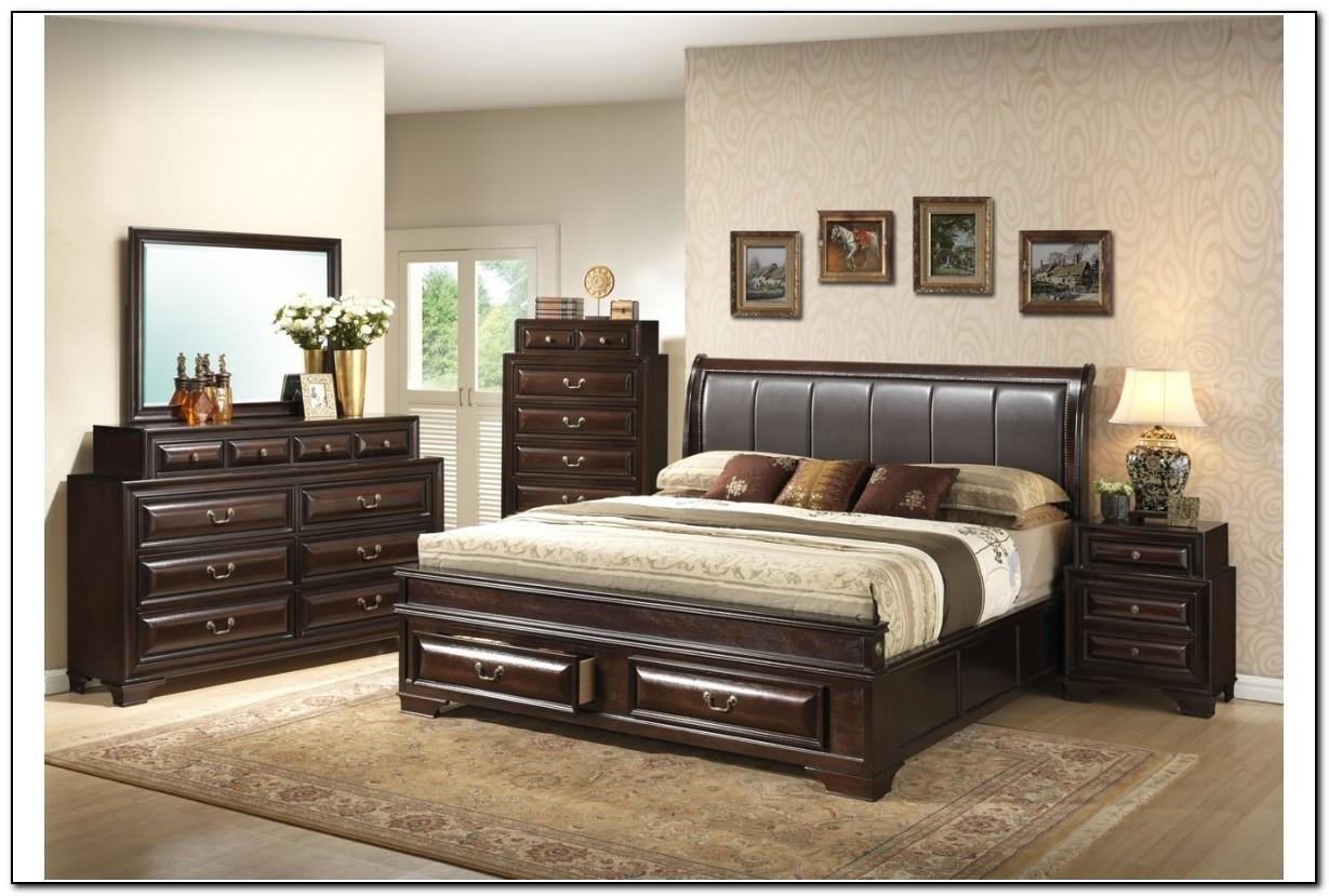 king size storage bedroom sets  beds  home design ideas