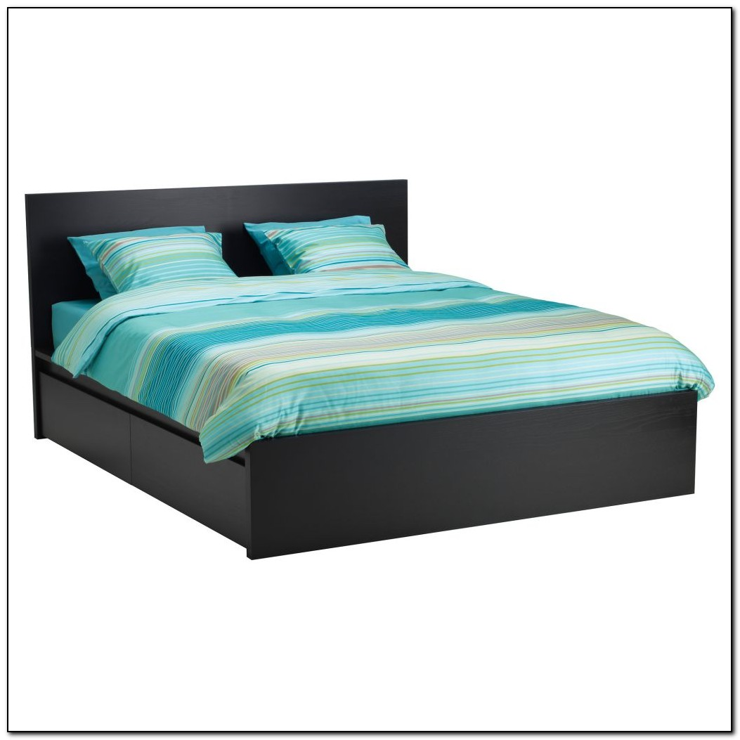 Platform Bed Frame Queen With Storage