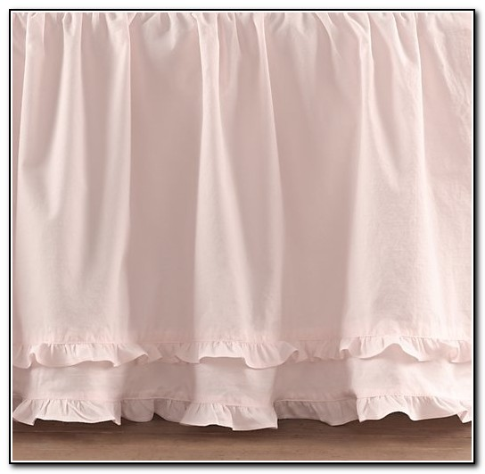 How To Make A Ruffled Crib Bed Skirt
