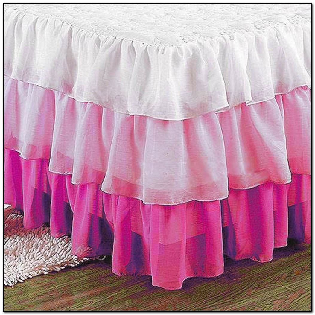 Ruffled Bed Skirt Full