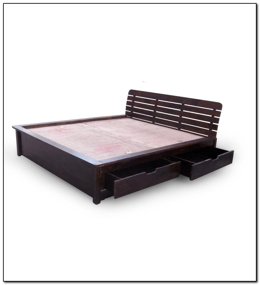 Storage Bed Queen Frame Beds Home Design Ideas