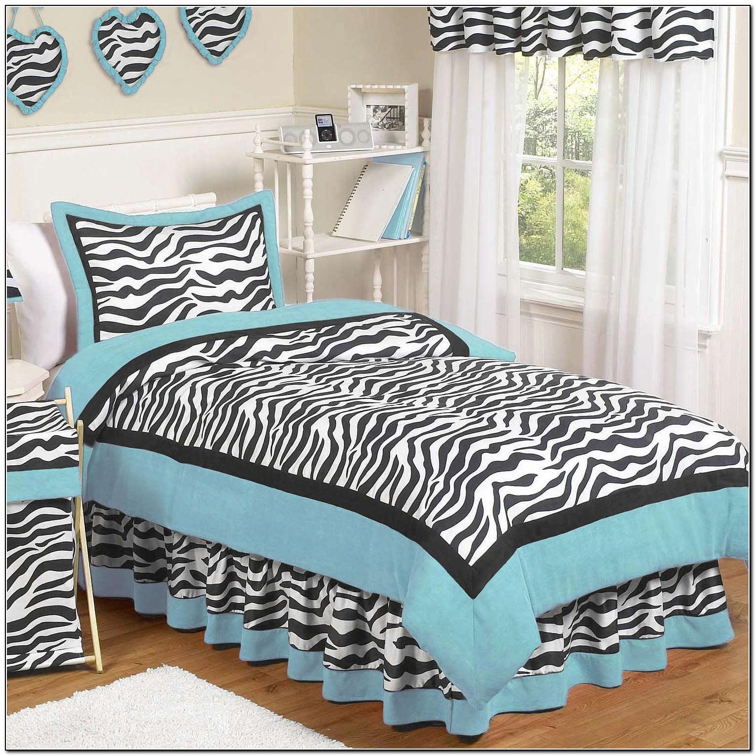 Zebra Bedding Set Queen