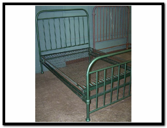 Antique Iron Bed Full Beds Home Design Ideas