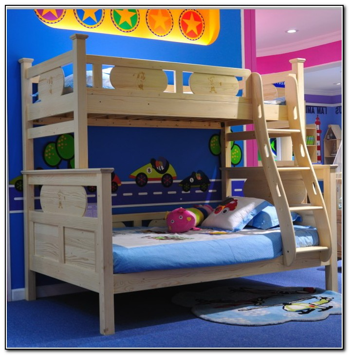 Cheap kids beds white bunk bed twin over full with for Cheap twin beds for kids