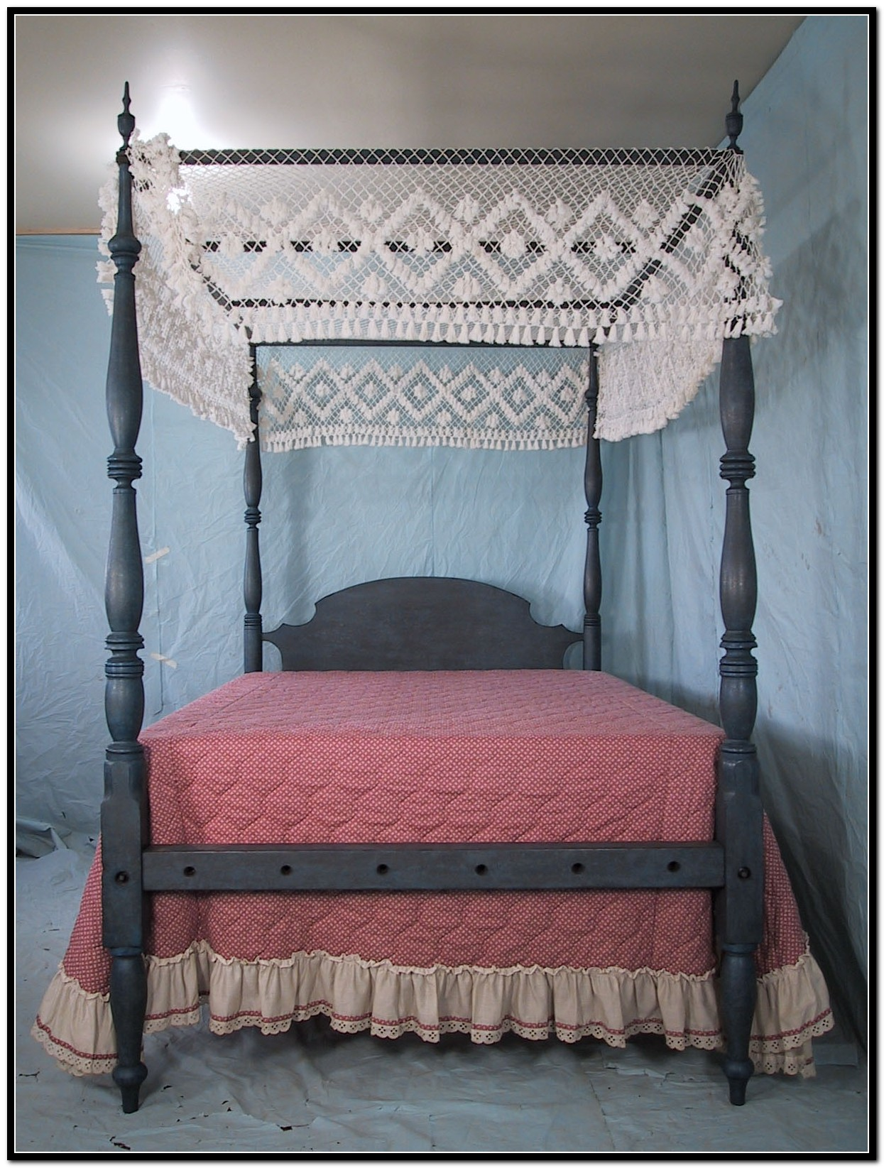 Full Size Canopy Bed For Girls Download Page Home Design